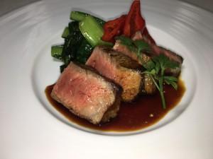 熊本赤牛サーロインステーキ1